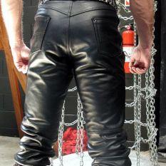 cowhide-levi-jeans