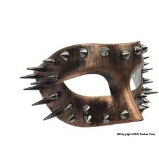 distressed-copper-mask-with-spikes
