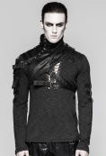 asymmetrical-faux-leather-shoulder-harness