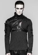 asymmetrical-faux-leather-shoulder-harness