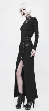 long-military-pencil-skirt-w-slit