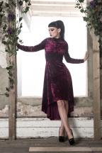 crushed-velvet-dress
