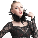 feather-shoulder-pad-collar
